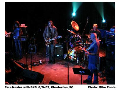 Tara Nevins with BK3, 6/5/09 Charleston, SC