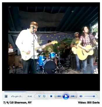 7/4/10 Great Blue Heron Fest, Sherman, NY