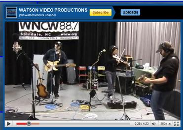 1/28/10 WNCW Studio B, Spindale, NC
